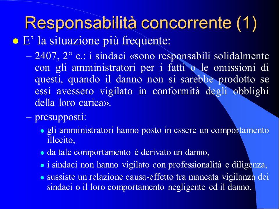 Responsabilità concorrente (1)