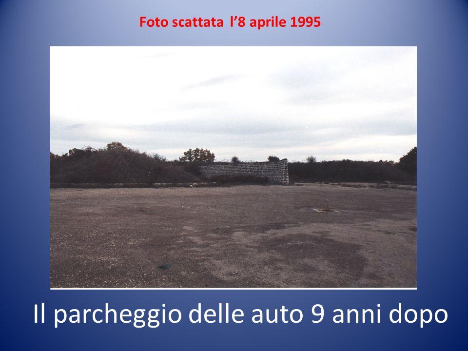Il parcheggio delle auto 9 anni dopo