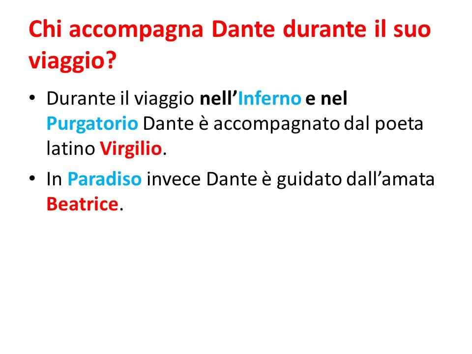 Chi accompagna Dante durante il suo viaggio