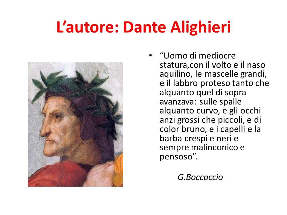 L'autore: Dante Alighieri