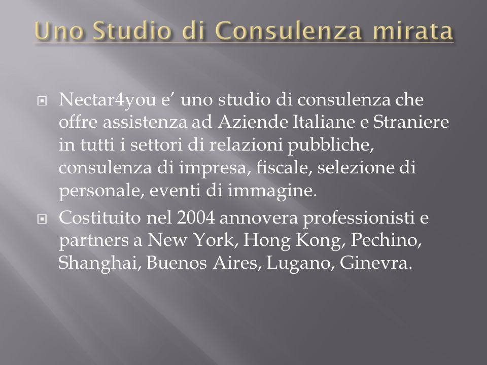 Uno Studio di Consulenza mirata
