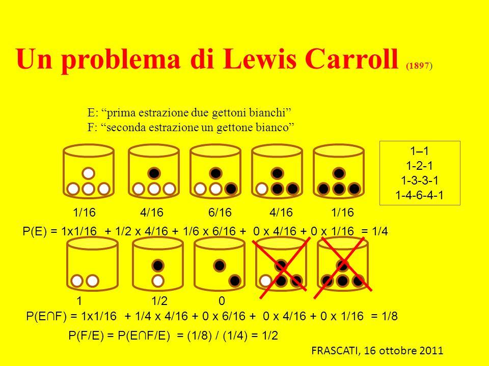 Un problema di Lewis Carroll (1897)