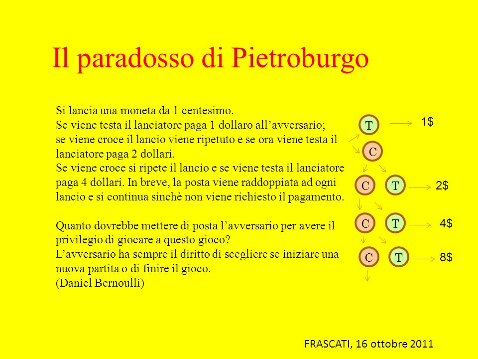 Il paradosso di Pietroburgo