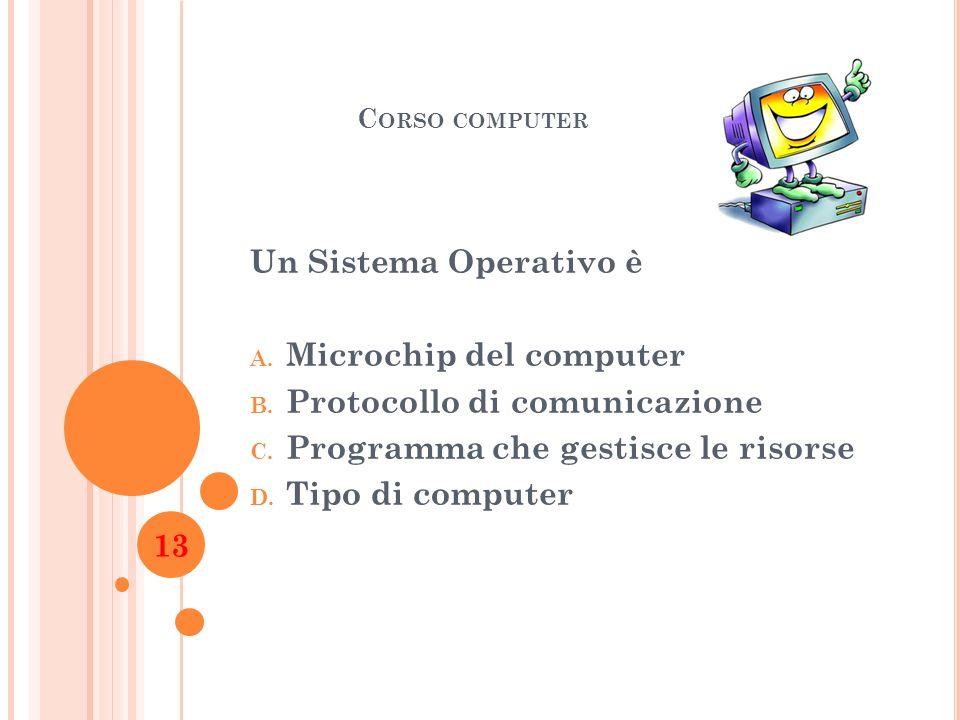 Microchip del computer Protocollo di comunicazione