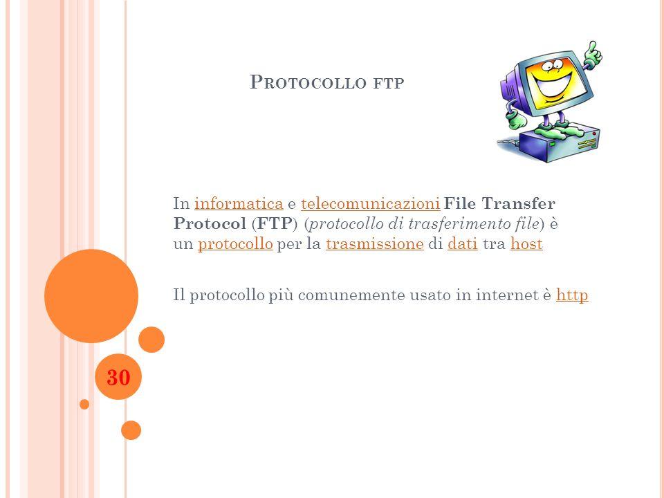 Protocollo ftp