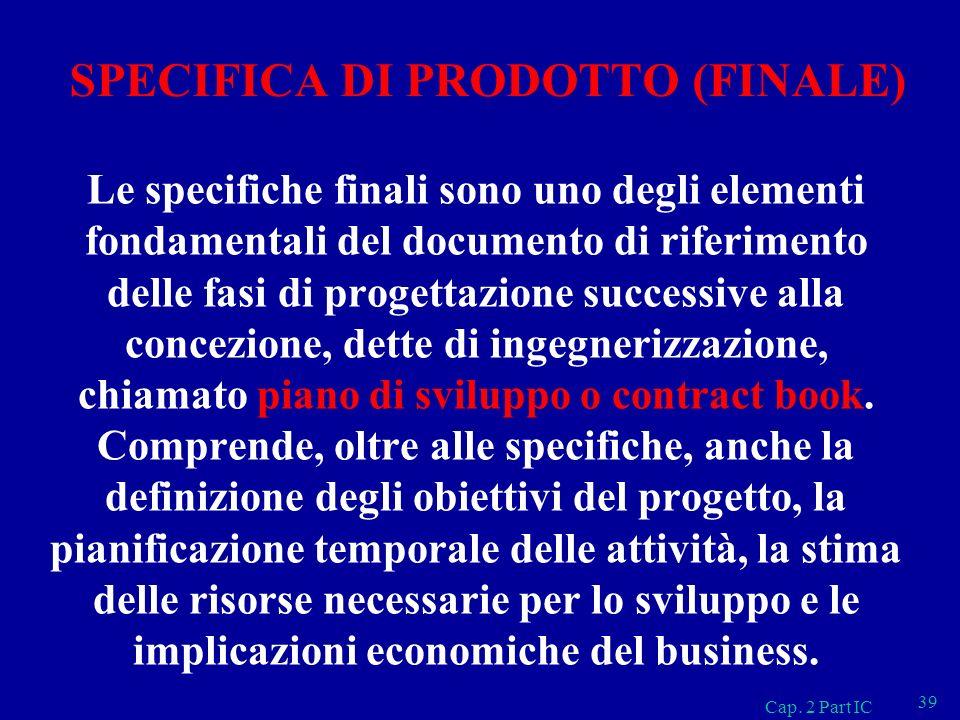 SPECIFICA DI PRODOTTO (FINALE)