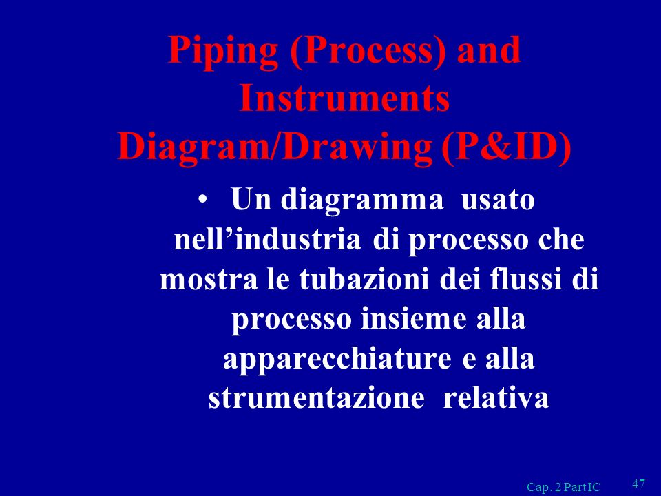 Piping (Process) and Instruments Diagram/Drawing (P&ID)