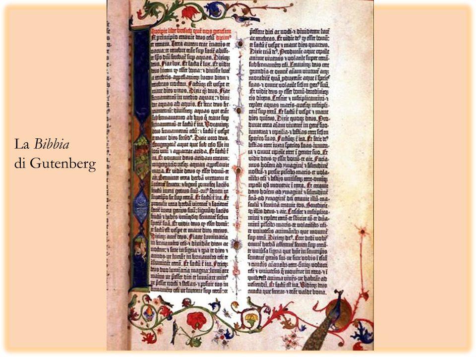 La Bibbia di Gutenberg