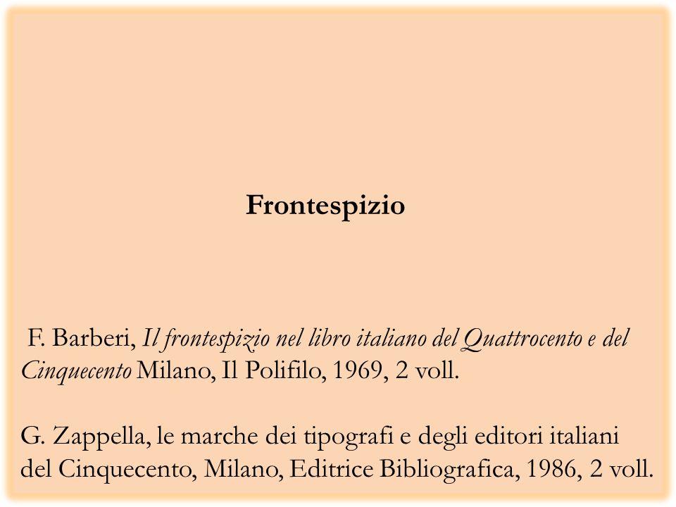 Frontespizio F.
