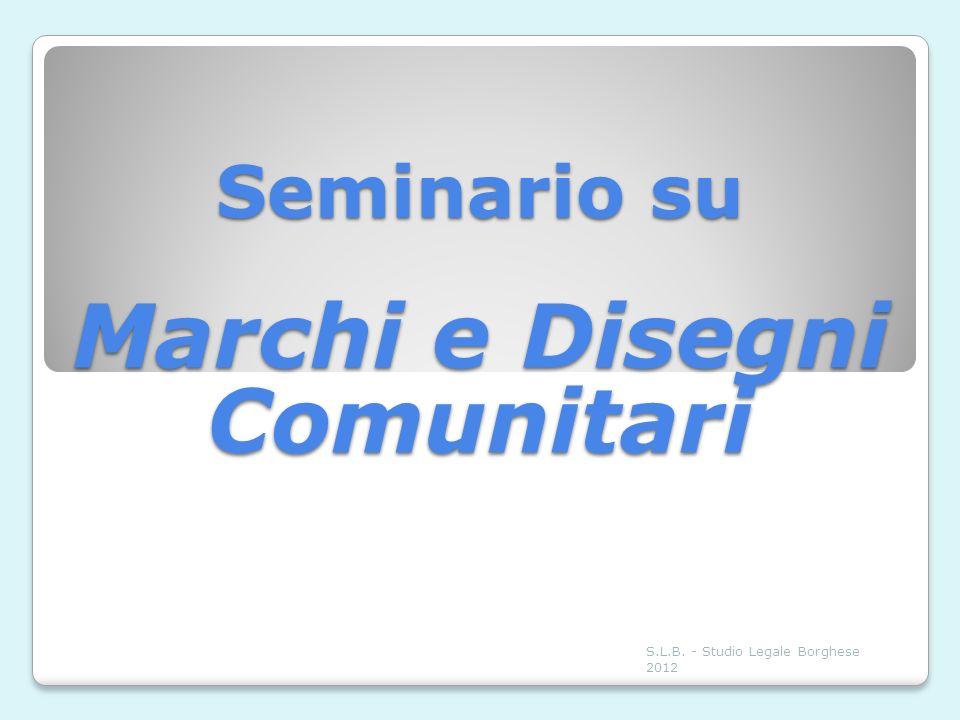 Seminario su Marchi e Disegni Comunitari
