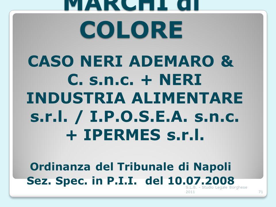 Ordinanza del Tribunale di Napoli