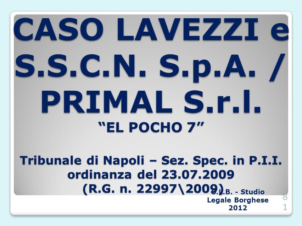S.L.B. - Studio Legale Borghese 2012
