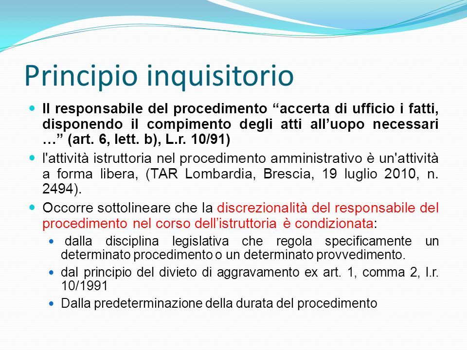 Principio inquisitorio