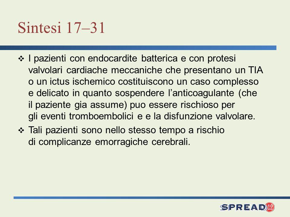 Sintesi 17–31