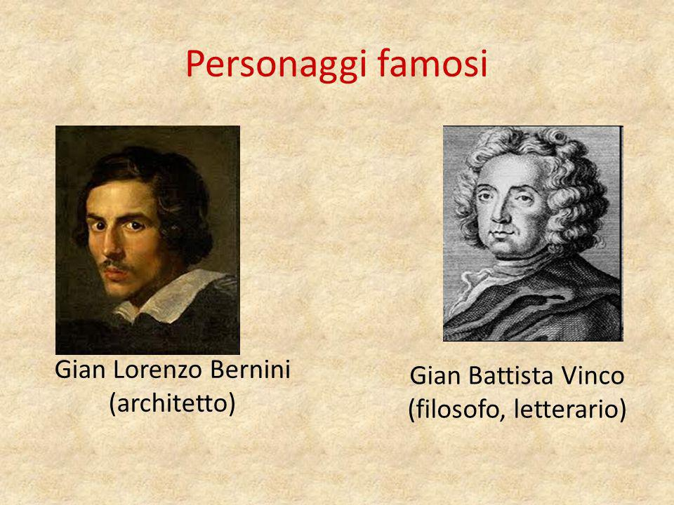 Personaggi famosi Gian Lorenzo Bernini (architetto)