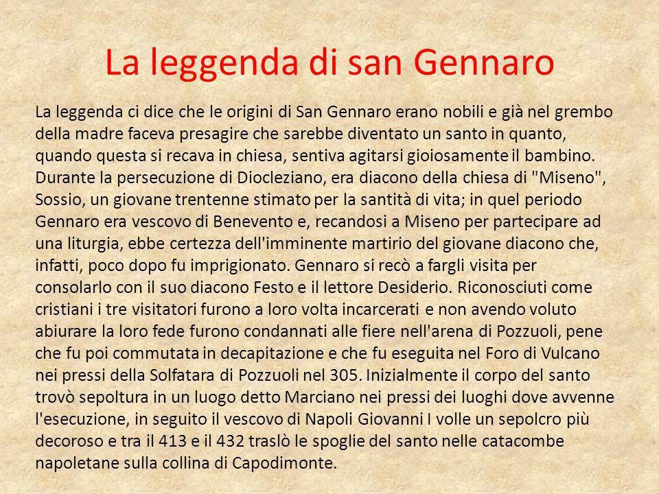 La leggenda di san Gennaro