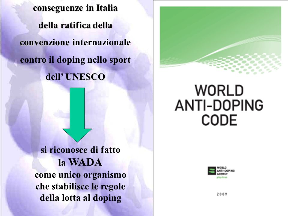 convenzione internazionale contro il doping nello sport