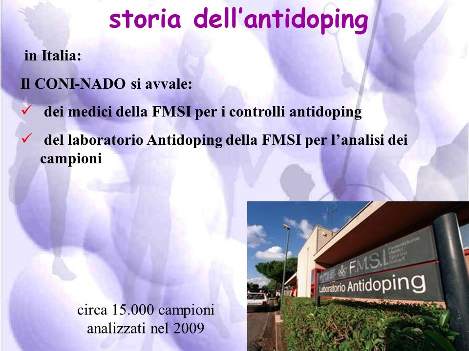 storia dell'antidoping