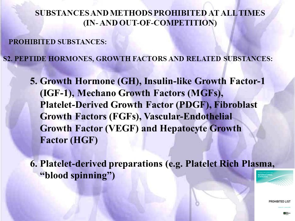 5. Growth Hormone (GH), Insulin-like Growth Factor-1
