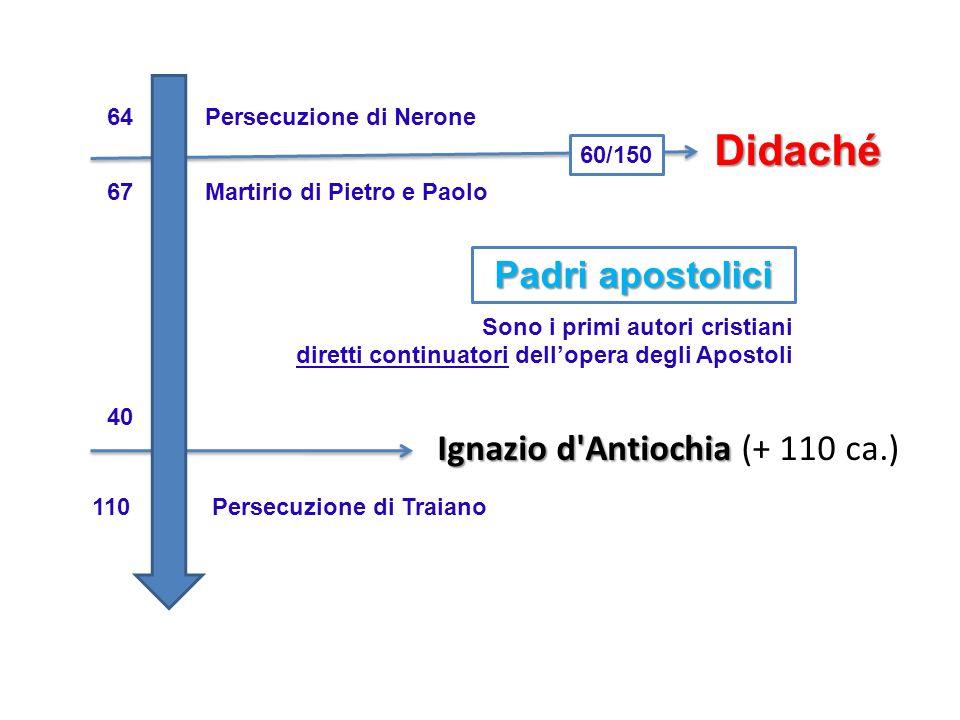 Ignazio d Antiochia (+ 110 ca.)