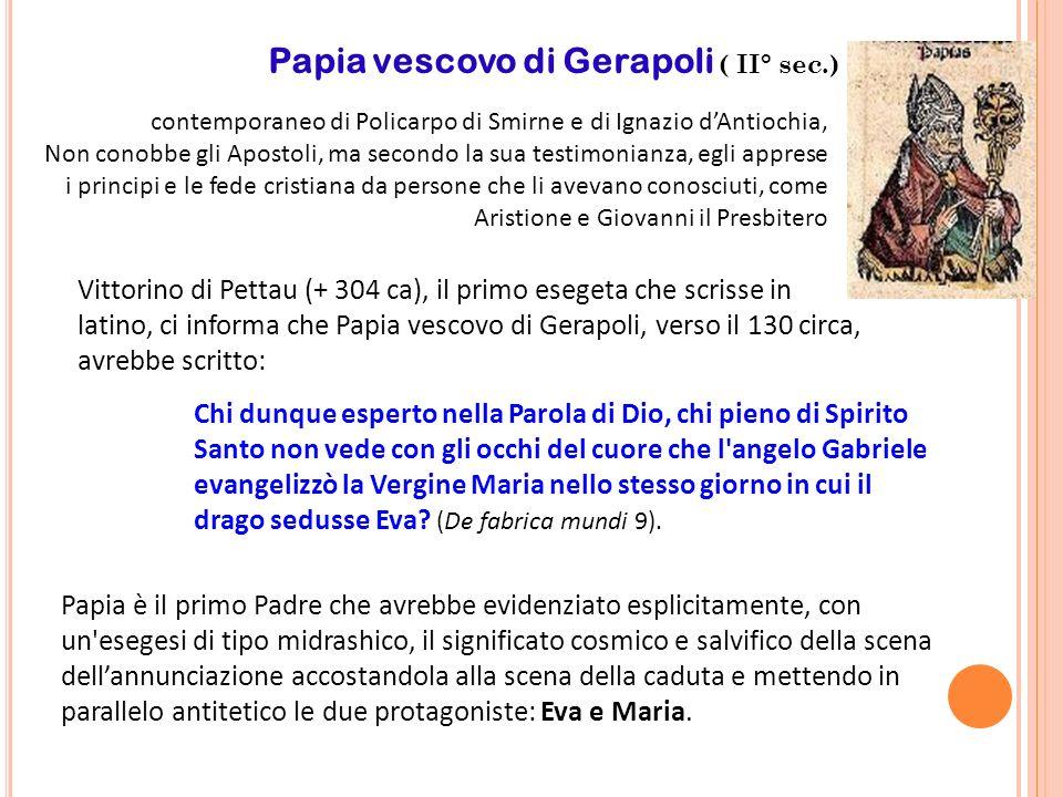 Papia vescovo di Gerapoli ( II° sec.)
