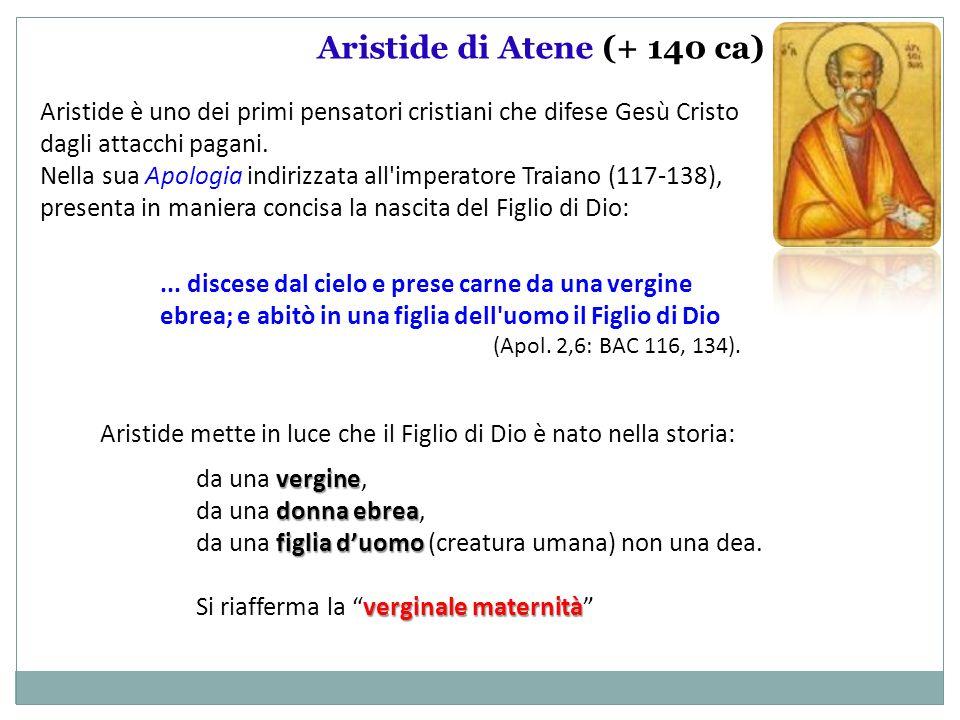 Aristide di Atene (+ 140 ca)