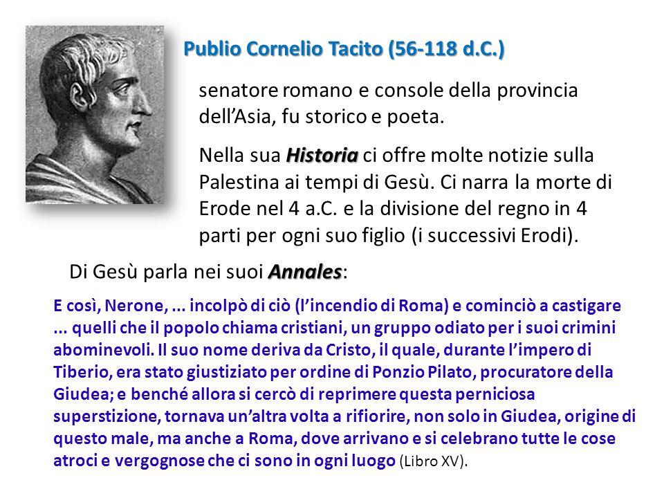 Publio Cornelio Tacito (56-118 d.C.)