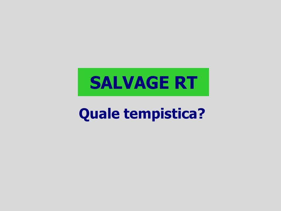 SALVAGE RT Quale tempistica