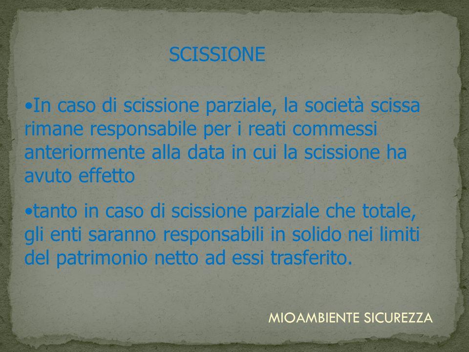 SCISSIONE