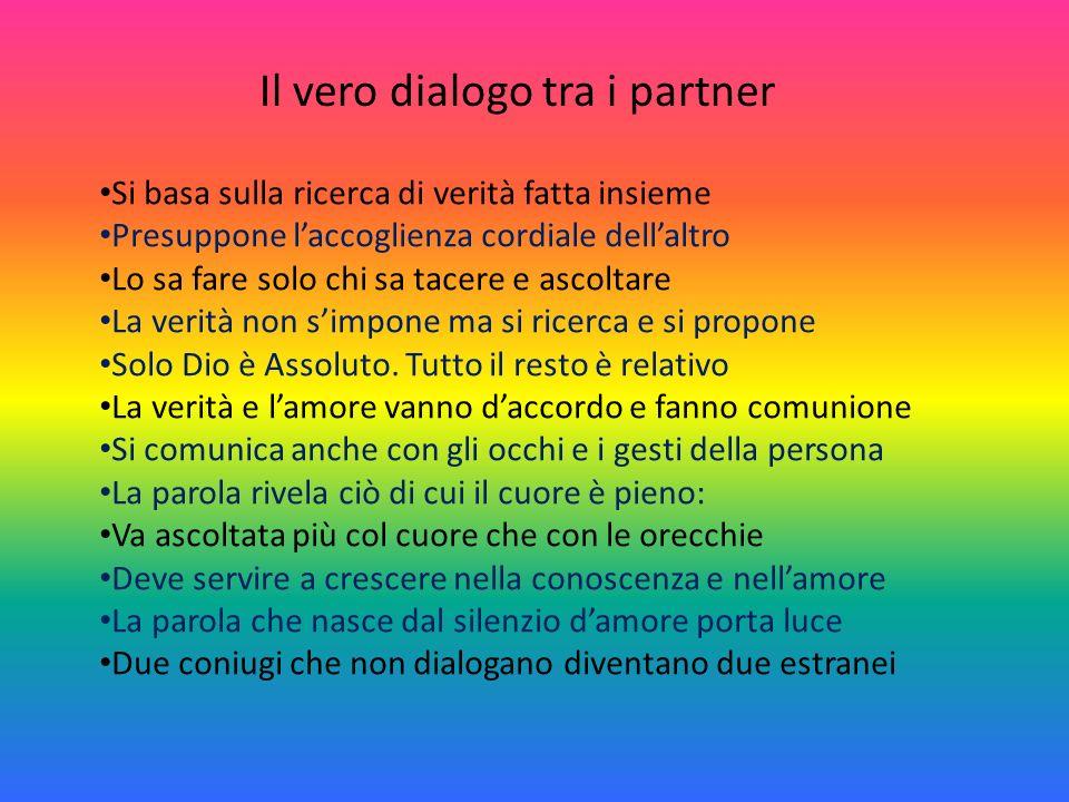 Il vero dialogo tra i partner