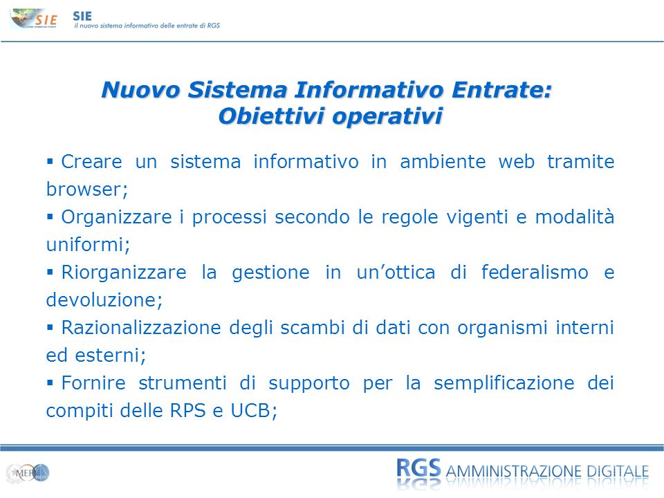 Nuovo Sistema Informativo Entrate: