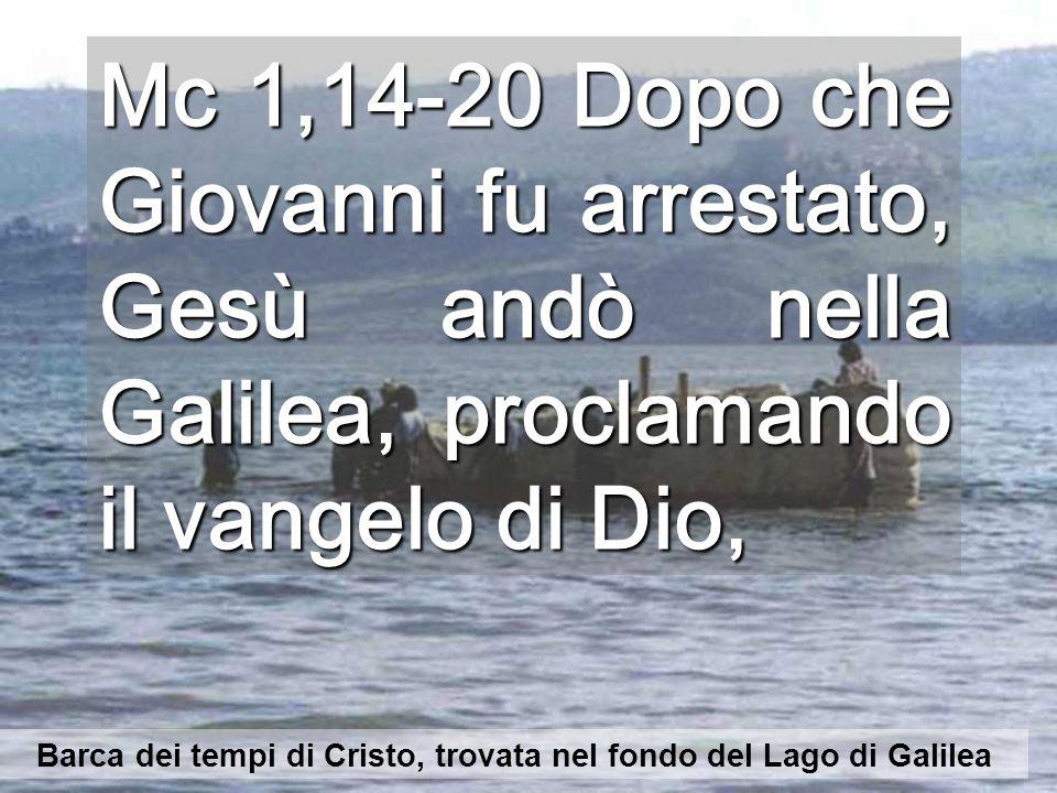 Barca dei tempi di Cristo, trovata nel fondo del Lago di Galilea
