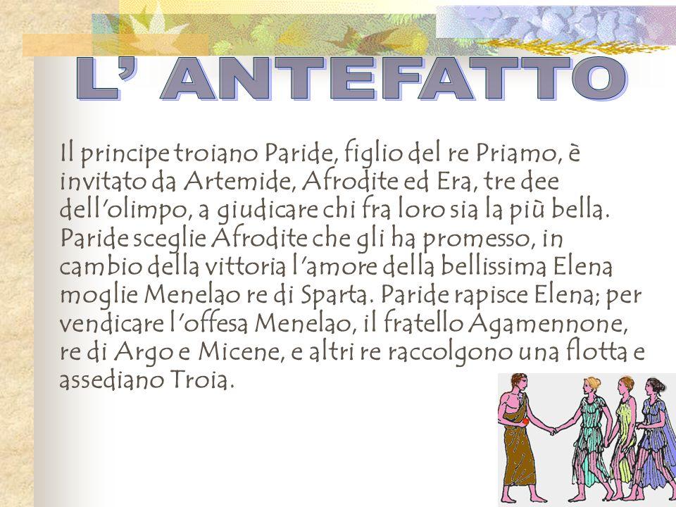 L' ANTEFATTO