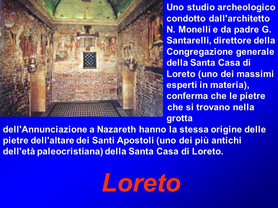 Loreto Uno studio archeologico condotto dall architetto