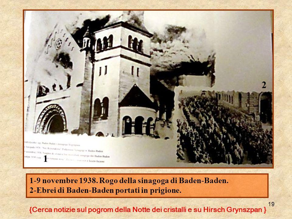 2 1 1-9 novembre 1938. Rogo della sinagoga di Baden-Baden.