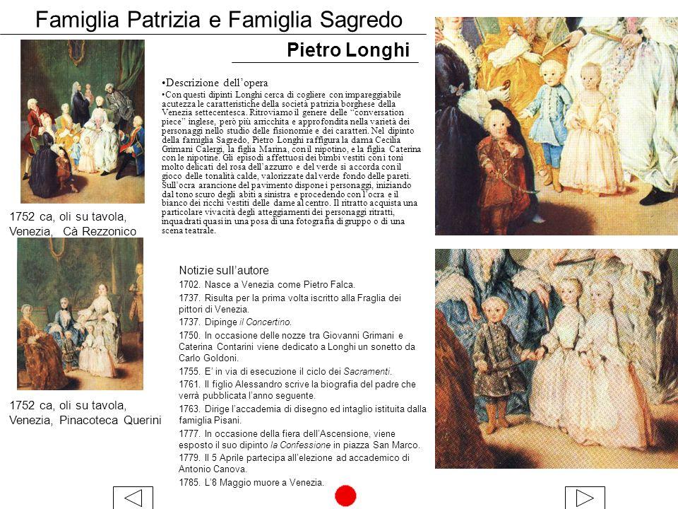 Famiglia Patrizia e Famiglia Sagredo