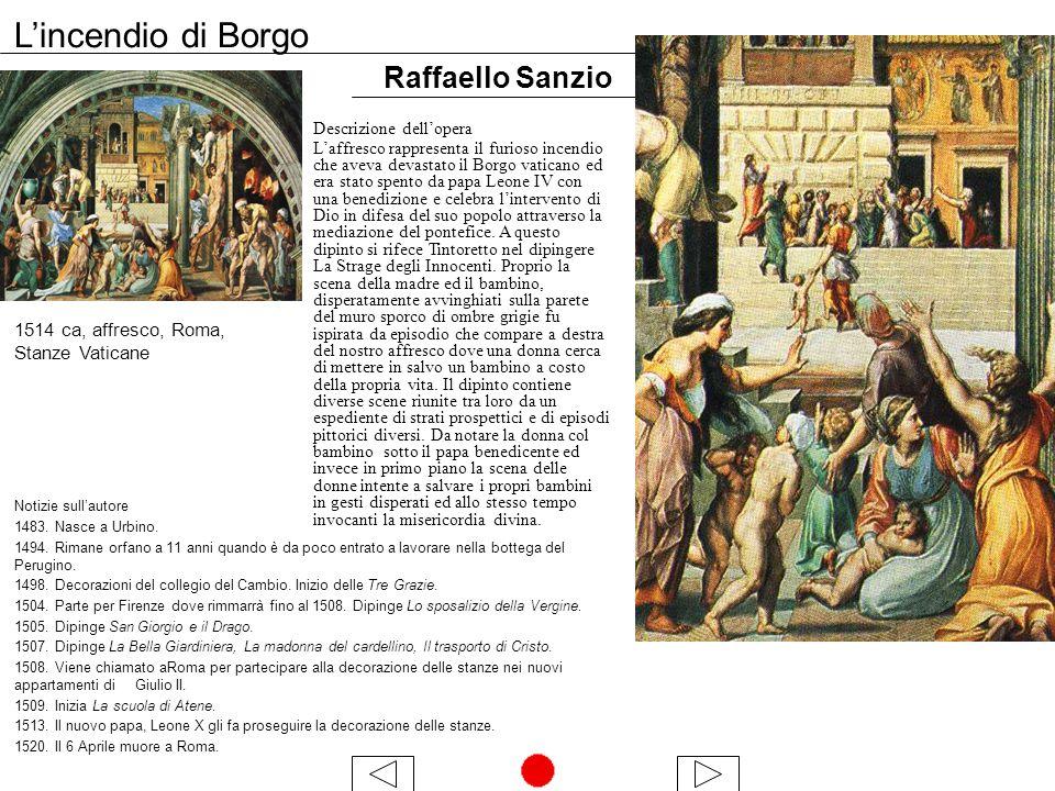 L'incendio di Borgo Raffaello Sanzio