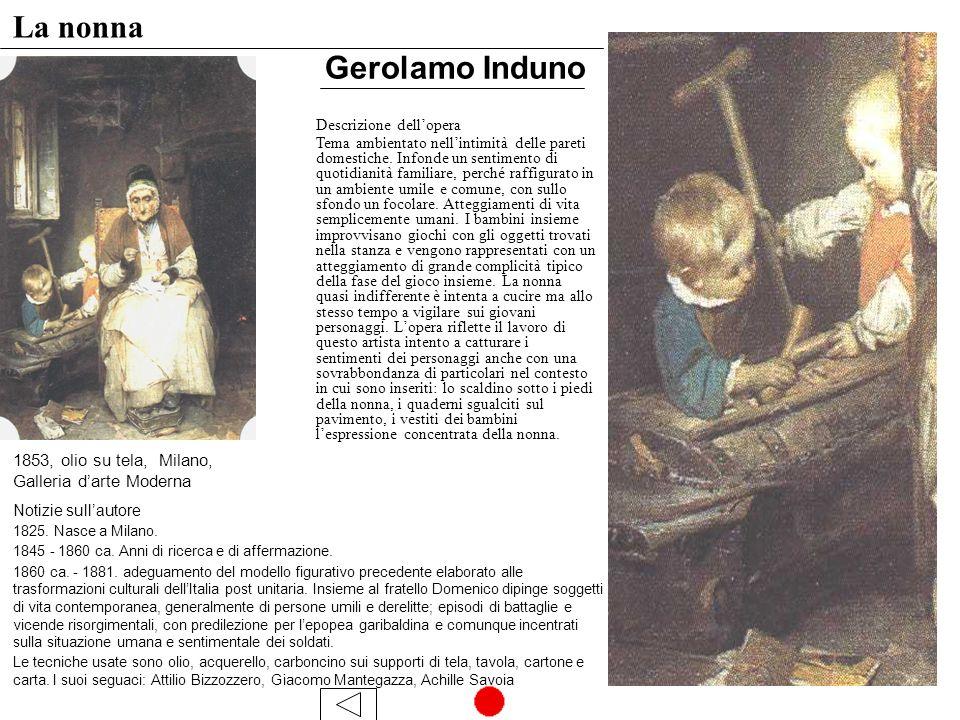 La nonna Gerolamo Induno