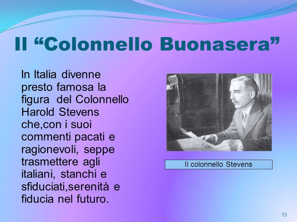 Il Colonnello Buonasera