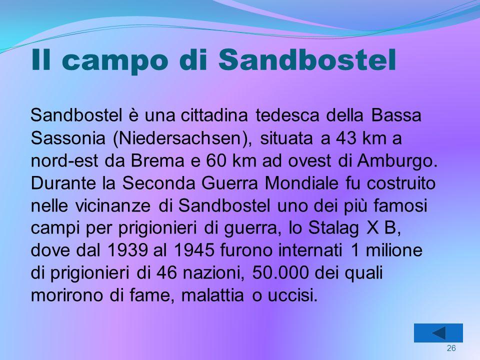 Il campo di Sandbostel