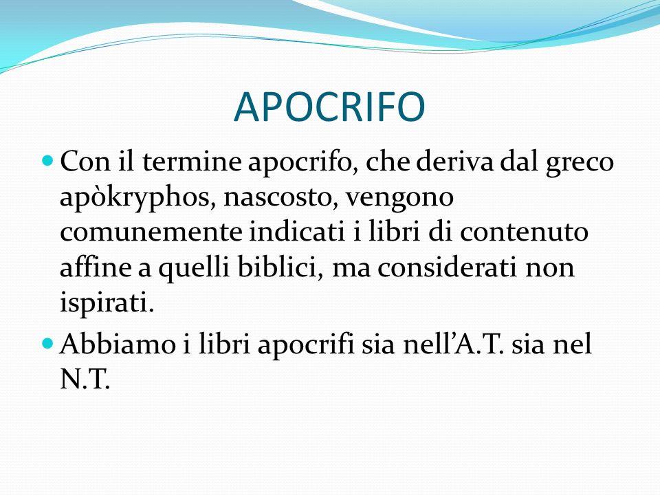 APOCRIFO