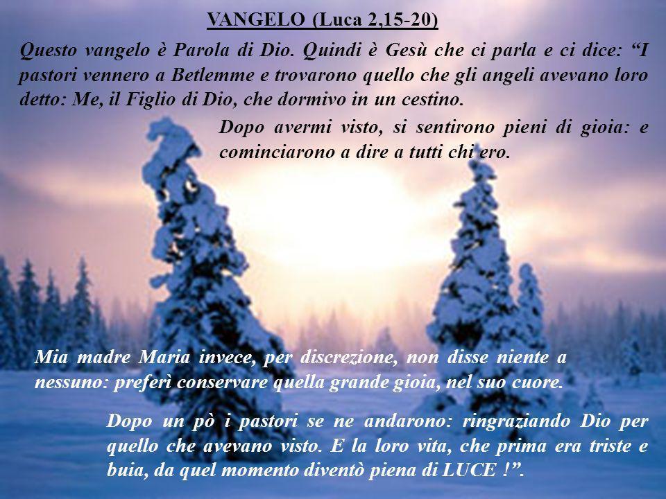 VANGELO (Luca 2,15-20)