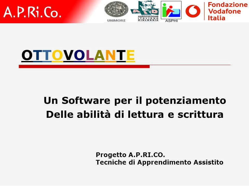 Un Software per il potenziamento Delle abilità di lettura e scrittura