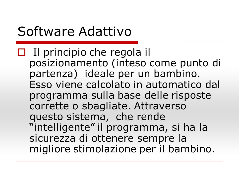 Software Adattivo