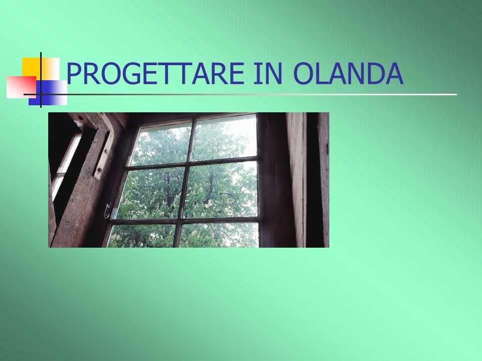 PROGETTARE IN OLANDA I vetri della case non vengono mai puliti perchè piove molto, e quindi è inutile.
