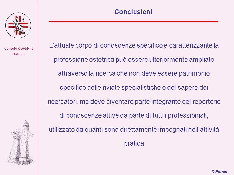 Collegio Ostetriche Bologna. Conclusioni.