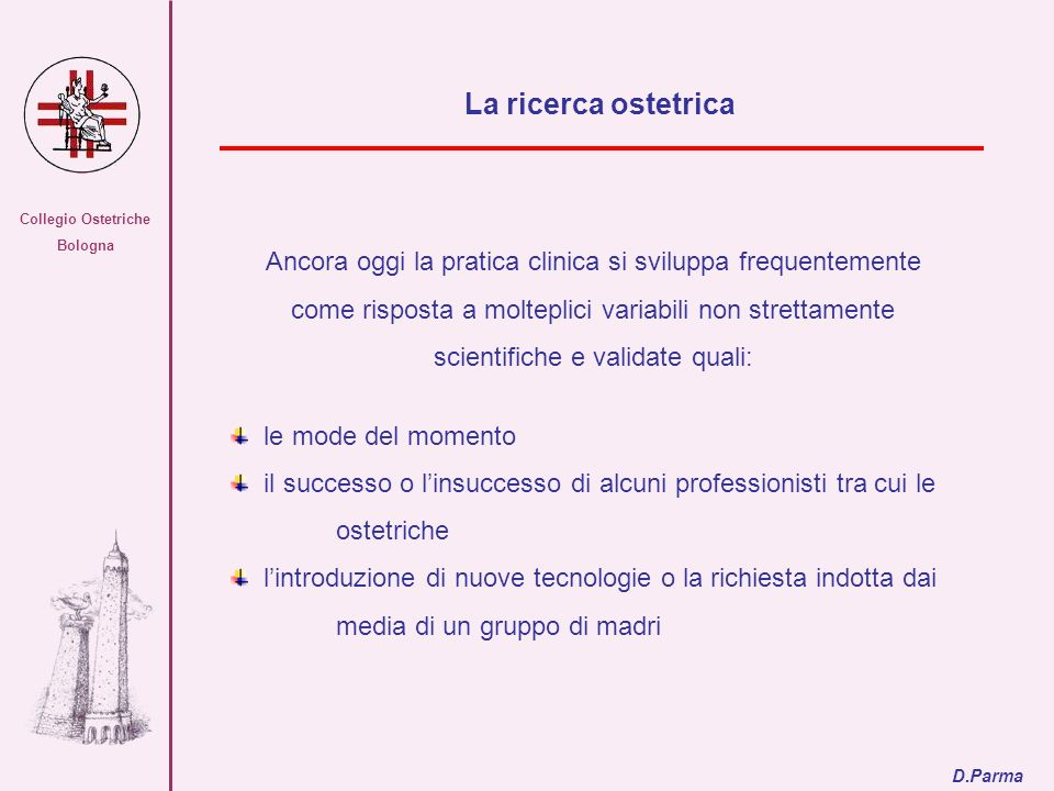 Collegio Ostetriche Bologna. La ricerca ostetrica.