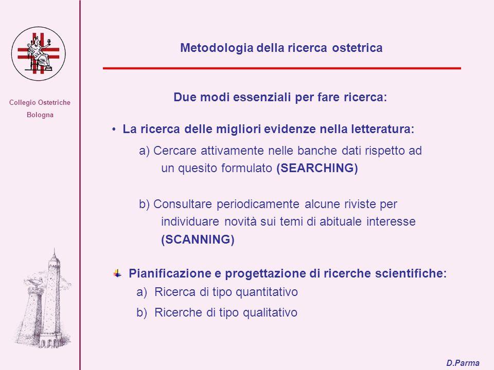 Metodologia della ricerca ostetrica