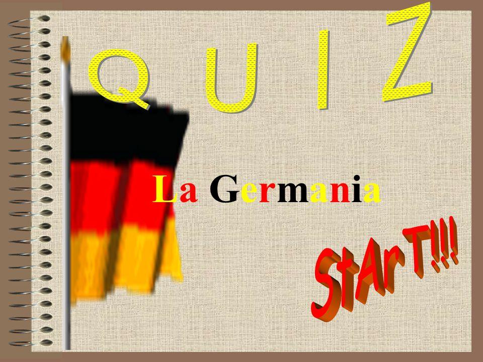 Q U I Z La Germania StArT!!!