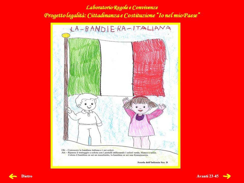 Progetto legalità: Cittadinanza e Costituzione Io nel mio Paese